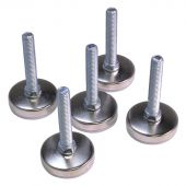 Kraftmeister Adjustable feet set for lower corner cabinet - Standard line