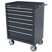 George Tools roller cabinet 7 drawers grey