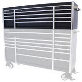 Kraftmeister Tool Chest Everest 72 Industrial black / silver - 11 drawers