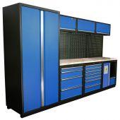 Kraftmeister modular garage system Halifax Nextgen Blue