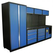 Kraftmeister NextGen Halifax stainless steel workstation Blue