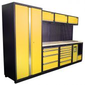 Kraftmeister NextGen Halifax workstation Yellow