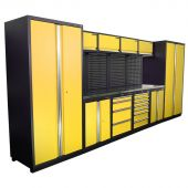 Kraftmeister NextGen Winnipeg stainless steel workstation Yellow