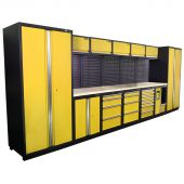 Kraftmeister NextGen Montreal workstation Yellow