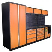 Kraftmeister NextGen Halifax stainless steel workstation Orange