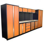 Kraftmeister NextGen Winnipeg workstation Orange