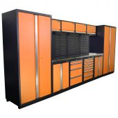 Kraftmeister NextGen Winnipeg stainless steel workstation Orange