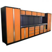 Kraftmeister NextGen Montreal stainless steel workstation Orange