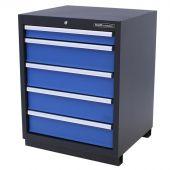 Kraftmeister 5-drawer cabinet Premium - Blue