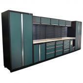 Kraftmeister modular garage system Montreal Nextgen Green