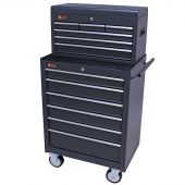 George Tools roller cabinet with tool chest 12 drawers anthracite
