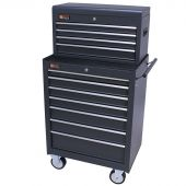 George Tools roller cabinet with tool chest 11 drawers anthracite