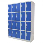 Kraftmeister 20-door locker, blue