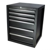 Kraftmeister Tool cabinet with 6 drawers, Titanium Pro
