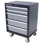 Kraftmeister Greyline Roller cabinet with 5 drawers