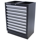 Kraftmeister cabinet with 9 drawers Greyline
