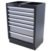 Kraftmeister cabinet with 7 drawers Greyline