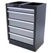Kraftmeister cabinet with 5 drawers Greyline