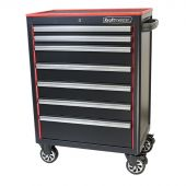 Kraftmeister Blackline Pro roller cabinet 28 with 7 drawers - black