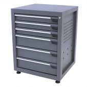 Kraftmeister tool cabinet with 6 drawers Platinum Pro