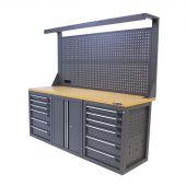 Kraftmeister workbench 200 M12D with tool panel Platinum