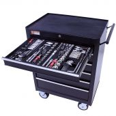 George Tools filled roller cabinet - 6 drawers - 253pcs