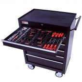 George Tools filled roller cabinet - 6 drawers - 80pcs
