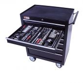 George Tools filled roller cabinet - 7 drawers - 253pcs
