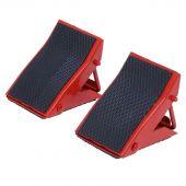 George Tools foldable wheel chocks set