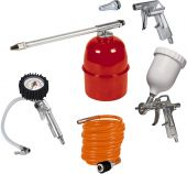 Einhell pneumatic tool set 8 bar 5 pcs