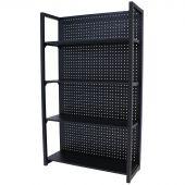 Kraftmeister metal storage rack Standard 120 cm black